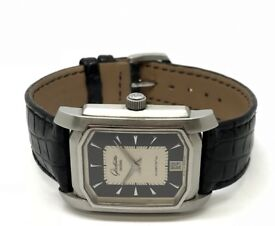 GLASHUTTE ORIGINAL 1/SA STEEL AUTOMATIC GENTS WATCH WITH EXHIBITION CASEBACK