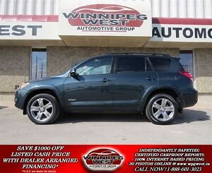 2012 Toyota RAV4 Sport 4X4, LOADED, SUNROOF, VERY SHARP!!