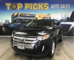 2014 Ford Edge SEL, AWD, Leather, Pan Sunroof, Navigation!