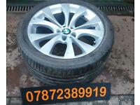 "GENUINE SPARE 20"" 11J BMW X5 E70 REAR ALLOY WHEEL 315 35 20 STYLE 227 M SPORT"