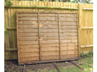 Wany edged fence panel, and large gate Any Offers?