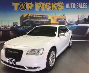 2017 Chrysler 300 300C PLATINUM AWD, LEATHER, TWIN SUNROOF, NAVI