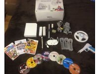 Nintendo Wii Console+Accesories/Games