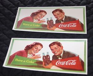 Coca-Cola Ink Blotters Only A Few Left