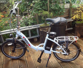 Folding Electric Batribike Dash Excellent Condition