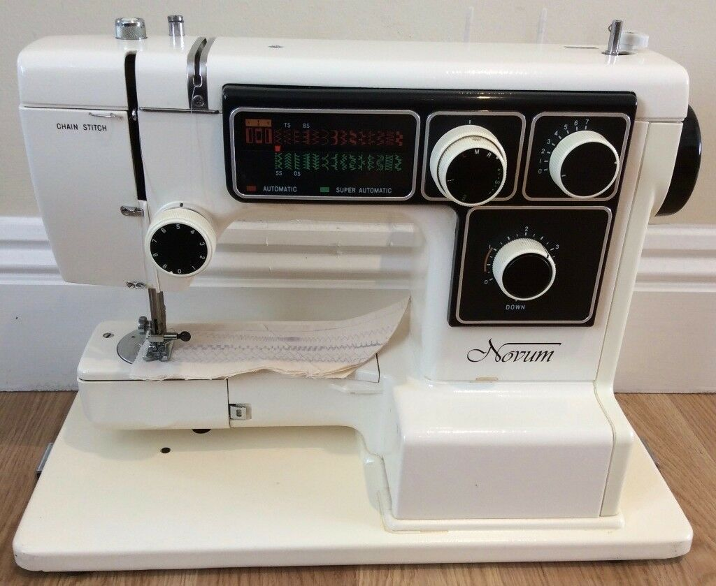Janome Novum 5000 Heavy Duty Sewing Machine - Pre-Owned - Serviced With  Warranty -