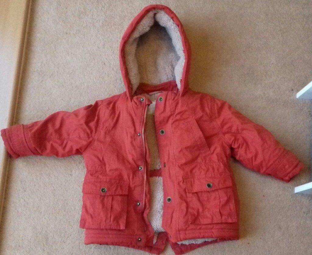 Warm winter coat, age 2-3. Good condition