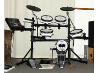 Roland TD-8 kit V Drums kit VEX pack upgraded electronic percussion set pedal