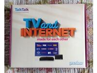 Youview tv and Internet box