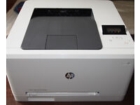 HP M252n colour laser printer. Immaculate condition. Network or USB. Loads of toner included