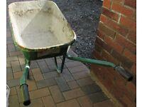 2 wheelbarrows