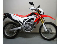 HONDA CRF250-L. ONLY DONE 71MILES FROM NEW