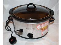 New Crock Pot Slow Cooker 3.5L