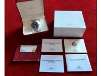 Omega Seamaster 300m 41 Full Size Boxed with.papers