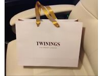 Luxury Twinings London Gift Bag Shopping