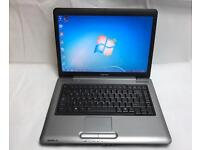 Toshiba Fast Laptop, 160GB, 2GB Ram Windows 7, Microsoft office, VGood Condition, Dual-Core