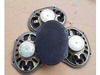 Ford Mondeo Mk3 01-07 Door Speakers Genuine Front & Rear X4 - £10