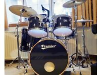 Premier Drum Kit Drumkit with extras