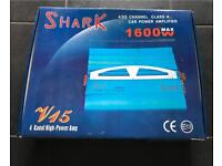 Shark Amps 1600W & 400W Brand New In Original Packaging