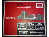 Sony DVD Home Theatre System DAV-DZ260. Brand New. £75.
