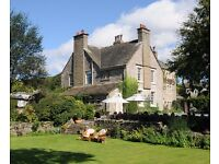 LIVE IN Front of House staff required for 5 star Country House hotel, Yorkshire