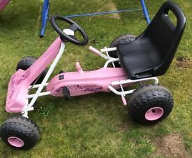Pink Go-Cart