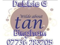 5* Professional Mobile Spray Tanning by Debbie at Wilde about Tan