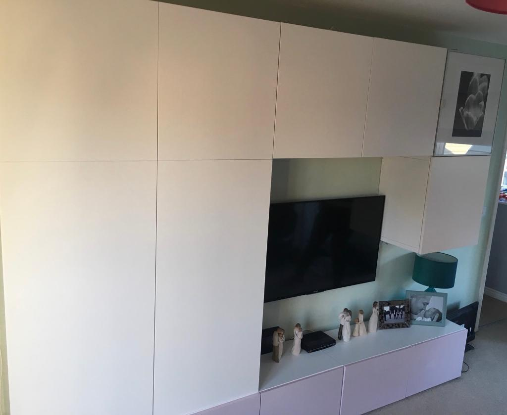 Ikea Besta Wall Units In Houghton Le Spring Tyne And Wear Gumtree