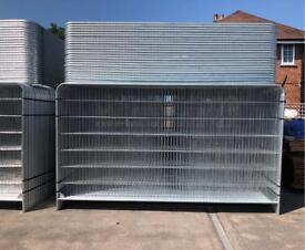 🔩 New Heras Fencing Set ~ (Panel/ Foot/ Clip) Temporary Security Fencing