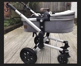 Joolz Studio Gris Pram And Stroller Frame In Good Condition - SOLD