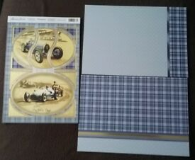 Father's Day card making kit