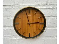 Vintage Metamec Wind up Wall Clock #469