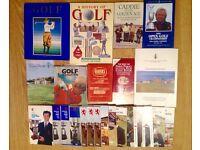Various Memorabilia Golf Books & Programmes