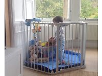 Playpen Lindam Safe and Secure + FREE mat