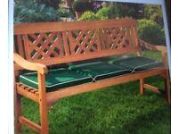 3 Seater Garden Fence Bench