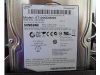 Used but in PWO Samsung ST1000DM005 1tb 3.5 inch Sata HDD (BATH BA2 Area)