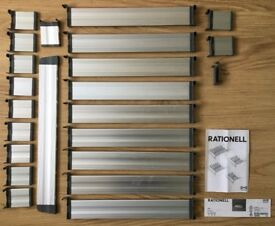 Rationell kitchen DRAWER DIVIDERS modular separators organiser ikea cutlery tidy