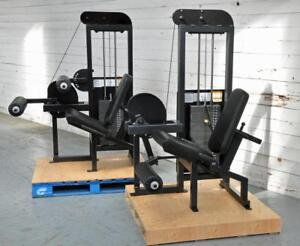Big price drop ($405) 100% Completely Remanufactured PULSE Fitness Leg Extension + Leg Curl Can be ordered separately