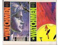 Alan Moore WATCHMEN 1 – 12 Complete HIGH GRADE