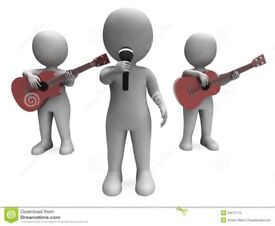 Male Guitarist/Vocalists Wanted
