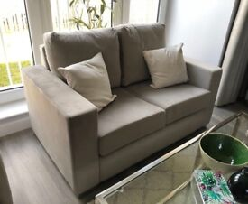Grey 2 Seater Sofa (3 months old, not been used)
