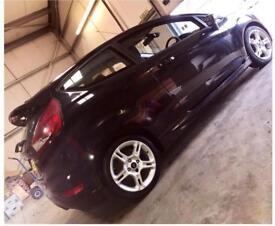 Ford Fiesta Zetec S, Black, 1.6