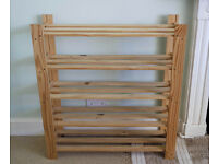 Large Solid Pine/Wooden Shoe Rack