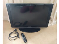 SAMSUNG 32 INCH WIDESCREEN FREE VIEW DIGITAL FULL HD READY LCD TV WITH REMOTE AND STAND **BARGAIN**