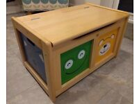 Wooden Toy Chest / Trunk