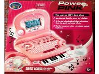 Pink Children's Computer