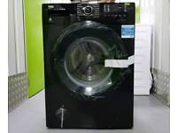 8KG BEKOWX842430B Washing Machine - Black Jett - 1400 rpm - Quick Wash - A +++