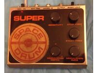 ELECTRO HARMONIX SUPER SPACE DRUM Vintage Analog Space drum synth VERY RARE