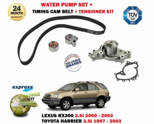 FOR LEXUS RX300 + TOYOTA HARRIER 3.0i 1997> TIMING CAM BELT KIT + WATER PUMP SET