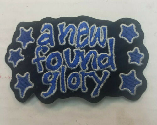 NEW FOUND GLORY COLLECTABLE RARE VINTAGE PATCH EMBROIDED 90